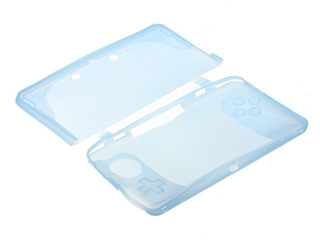 Silicone Soft Case Cover Skin Protector For Nintendo 3DS N3DS Game Console Blue