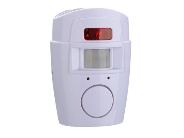 Wireless IR Infrared Motion Sensor Detector Alarm sensor Remote Home Security System white