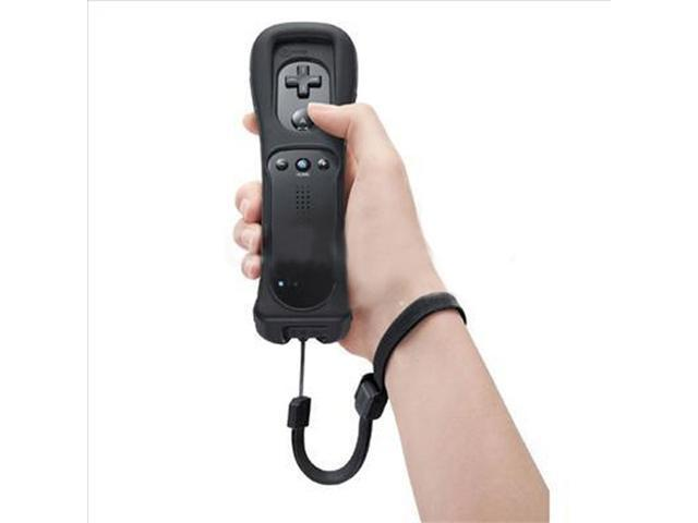 Wireless Wiimote Remote Controller +Case Strap for Nintendo Wii Black