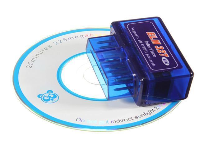 Smallest Mini ELM327 V1.5 Bluetooth OBD2 II Car Auto Diagnostic Scanner tool Android