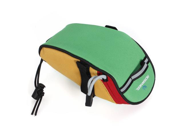 Fashional Cycling Bike Bicycle Saddle Bag Back Seat Tail Pouch Package Green