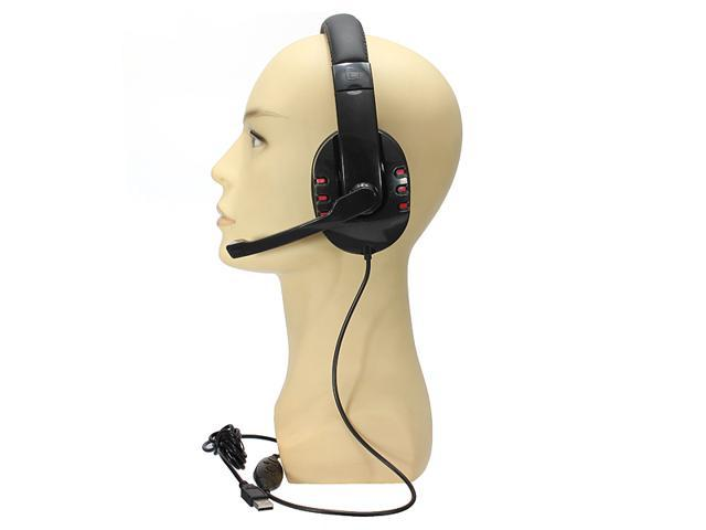 Mic Sound Wired Stereo Gamer Gaming Headset Headphone For Sony PS3 Playstation PS 3