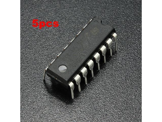 5pcs L293D L293 L293B DIP/SOP Push-Pull Four-Channel Motor Driver IC ST Stepper Step
