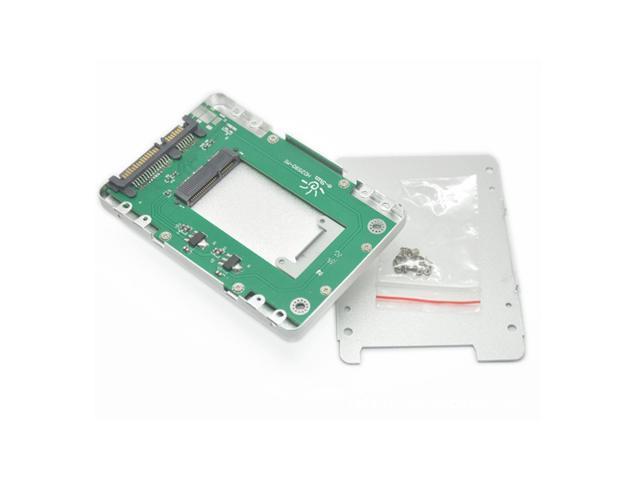 e-Sun HD2590 2.5 Inch SATA to Mini SATA SSD Enclosure Aluminum Alloy Hard Disk Box hard drive Enclosure