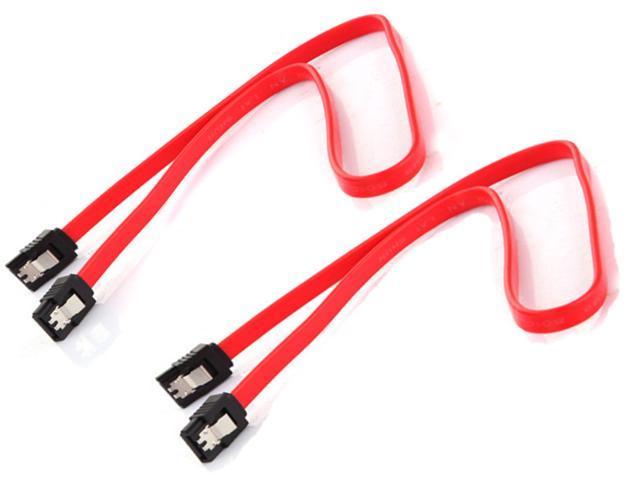 2x 18 Inch Serial SATA ATA RAID DATA HDD Hard Disk Drive CDROM Signal Cable