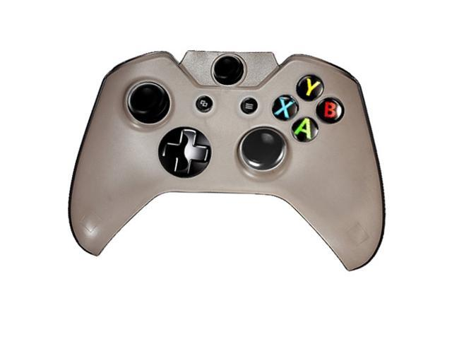 Hard Plastic Protective Gaming Game Crystal Case  Pattern Shell Cover Protector for Microsoft Xbox One Controller Gray