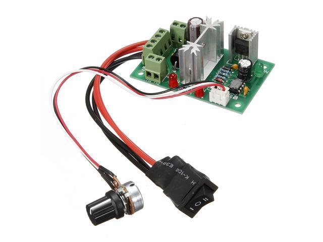6V-30V/6A Reversible DC Motor Speed Control PWM Controller Switch for 6V/12V/24V