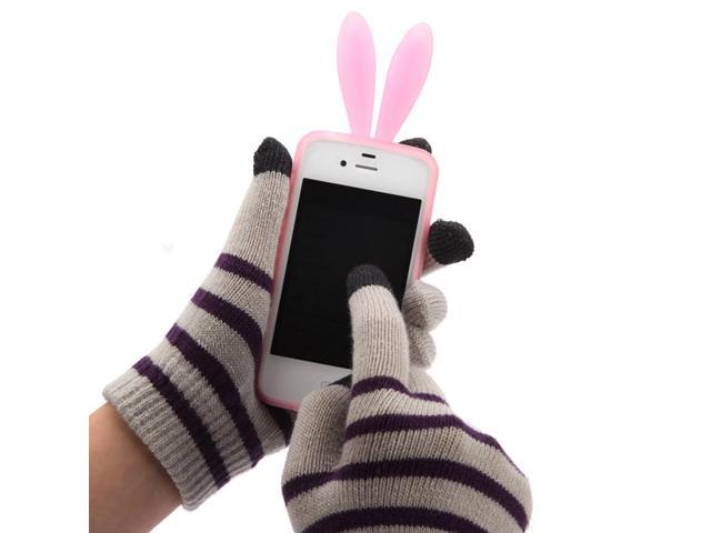 Capacitive Touch Screen Gloves Hand Warmer for iPhone5 5S 5C 4S i Pad iPod Touch sumsung nokia motor blackberry