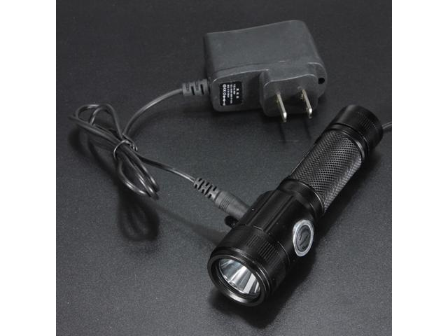 1800Lm Ultrafire Cree XM-L T6 LED Flashlight Torch Rechargeable Lamp Light 18650 + Charger Set