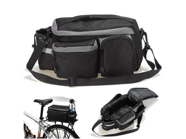 Cycling Bike Bicycle Pannier Trunk Shoulder Handbag Rack Rear Saddle Seat Storage Bag Touring Traveling