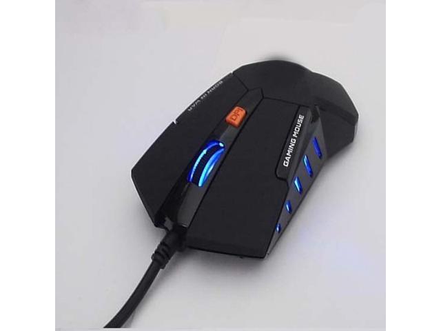 Deiog 1600DPI Ultimat Optical Game Gaming Mouse mice pc laptop notebook computer windows7/2000/XP/Vista