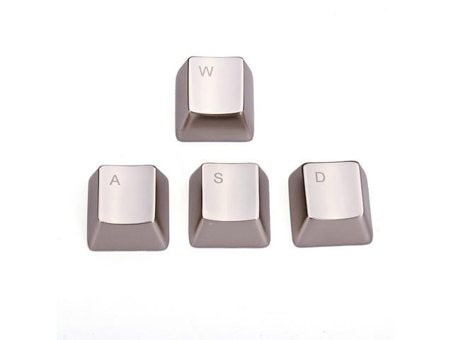MKC Metal Zinc Alloy WASD Direction Keycaps keycap for Cherry MX mouse keyboard pc laptop