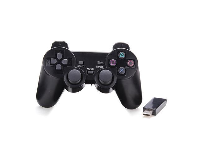 USB 2.4GHZ Wireless Vibration Dual Shock Game Joy pad Joystick Joypad Grip Controller for Android Tablet PC
