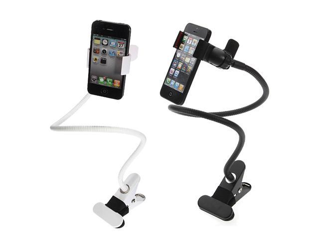 Universal Flexible Long Arm Phone Clip Mounts Holder Cradle Stand Desk Bed Car