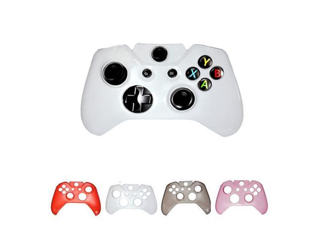 Hard Plastic Protective Gaming Game Crystal Case Shell Cover for Microsoft Xbox One Controller Clear