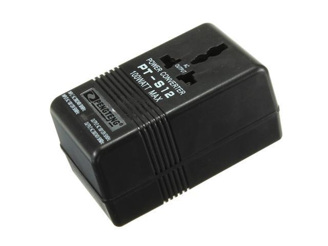 Power Adapter Ac 110v 120v To 220v 240v Up Down Dual Voltage Converter Volt Transformer 100w