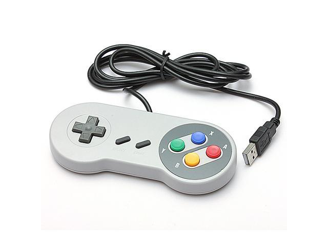 Nintendo Famicom SF SNES PC Wired Controller USB Windows  Mac