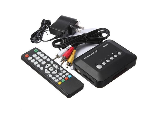 Multi Media Player Full HD HDMI 1080P Video YPbPr USB AV SDHC MKV RM RMVB AVI US