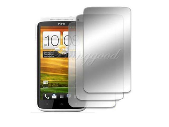 3pcs! Mirror Screen Protector Guard Shield Cover Film For HTC One X / LTE XL