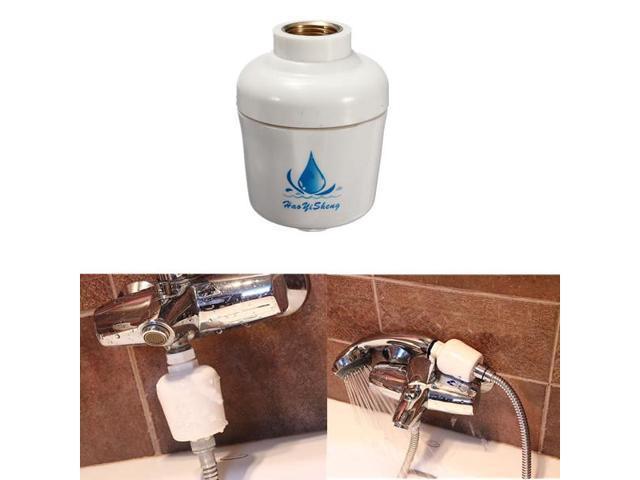 Bathroom Bath Shower Head Filter Faucet Softener Remove Chlorine Water Purifier