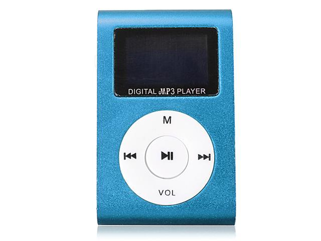 Mini Digital MP3 Player FM Radio LCD Screen with Earphone for 2/4/8/16GB TF Card