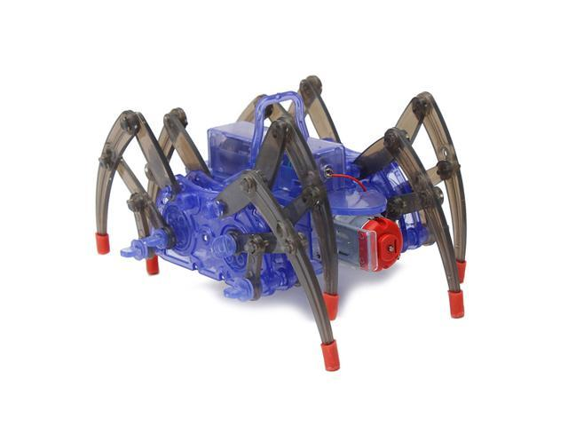 DIY Puzzle Electric Spider Robot Crawler Educational Toys ...