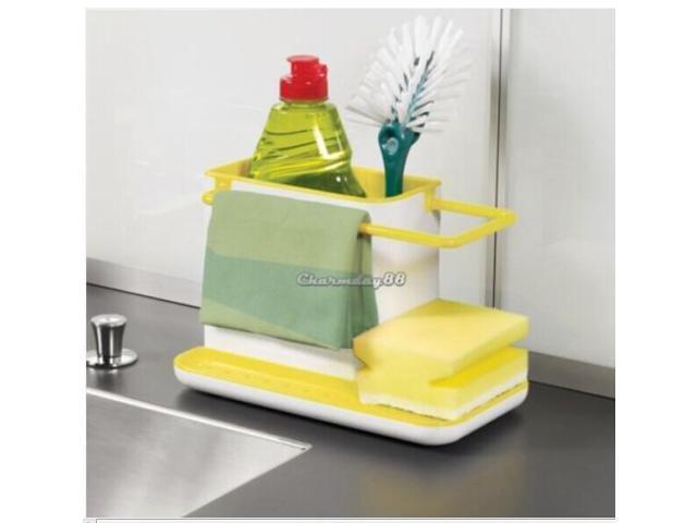 creative plastic racks organizer cabinet kitchen sink