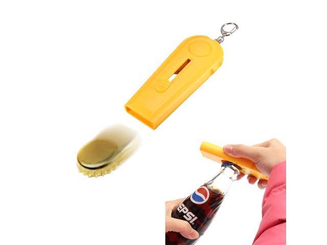 new 2in1 cap zappa zapper bar beer bottle opener launcher top shooter gun keychain. Black Bedroom Furniture Sets. Home Design Ideas