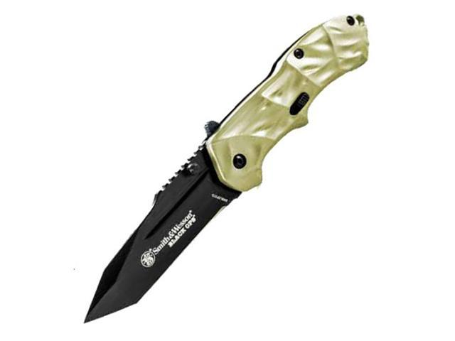Smith & Wesson Tan Ops MAGIC Gen 3, 2.5 in, Tan Aluminum, Plain SWBLOP3TD