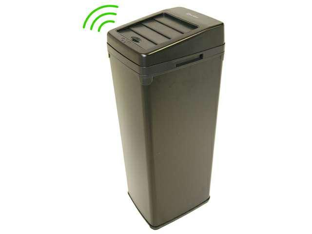 Black Steel Black Steel Touchless Trashcan