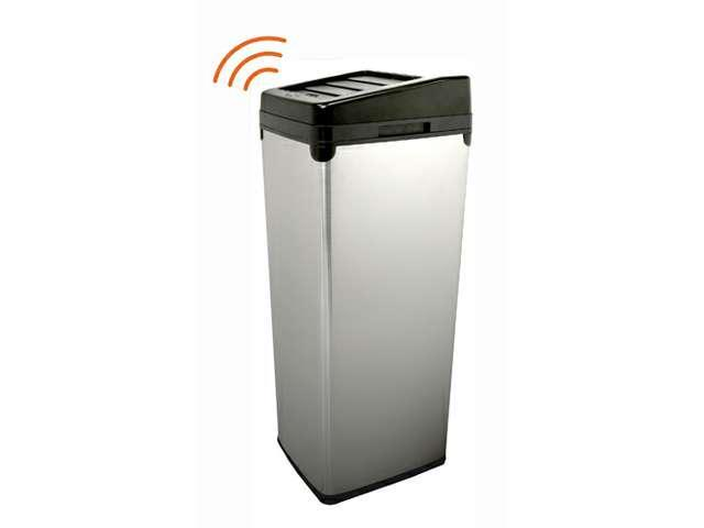 iTouchless Fully Automatic White Color Touchless Trashcan SX