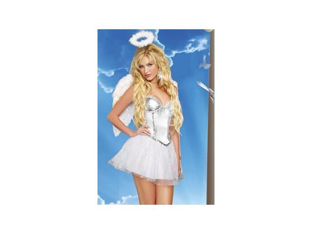 Angel Baby Costume 9449 by Dreamgirl White Small