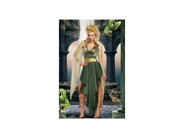 Medusa Costume 9442 by Dreamgirl Green Xtra Large