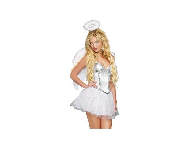 Angel Baby Costume 9449 by Dreamgirl White Medium