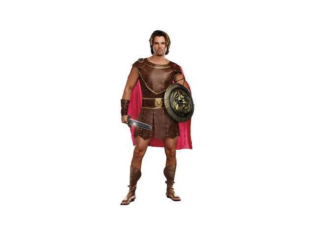 Mens Hercules Costume 9454 by Dreamgirl Brown XX Large