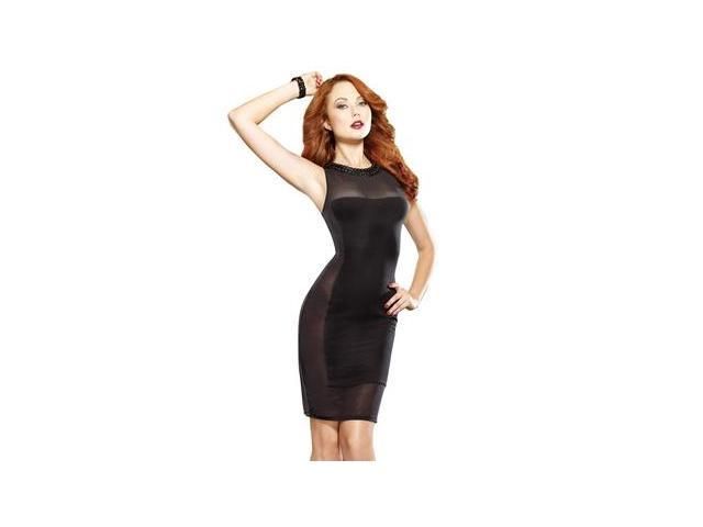 Gin And Sin Club Dress 9374 by Dreamgirl Black Medium-Newegg.com
