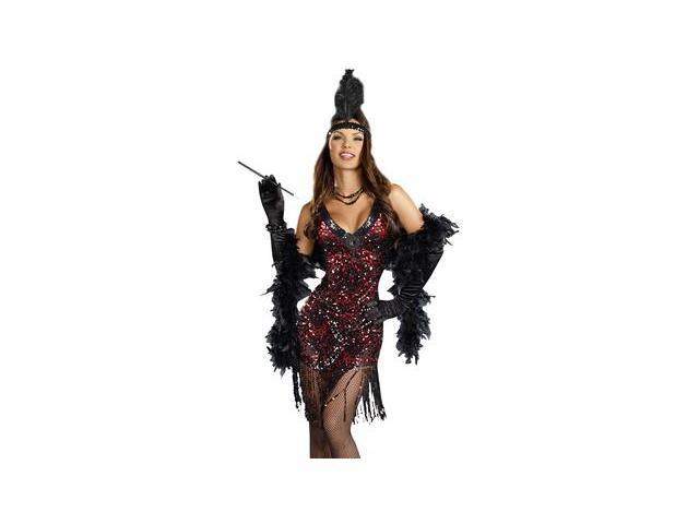 Dames Like Us Sequin Flapper Sexy Adult Costume