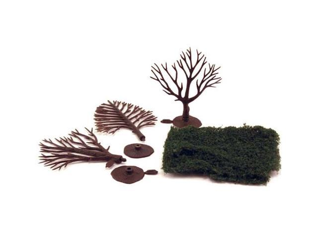 Scene-A-Rama Large Trees Kit WOOX4194 DESIGN PRESERVATION MODELS