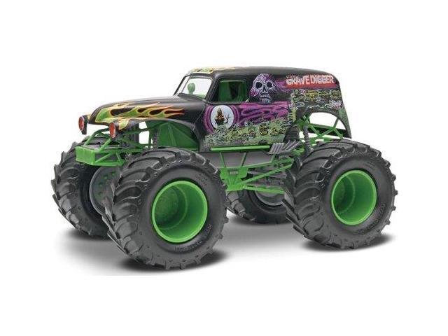 Revell SnapTite Grave Digger Monster Truck Plastic Model Kit, Scale 1/25 RMXS1978 REVELL/MONOGRAM