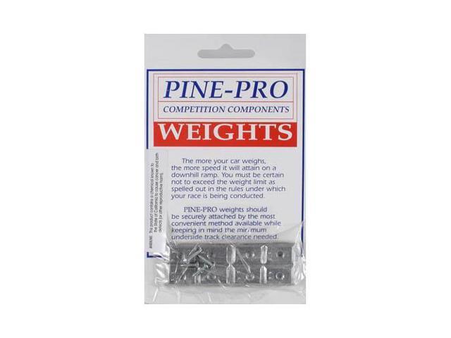 10011 Rectangular Weight 1 oz PPRY1011 PINE-PRO