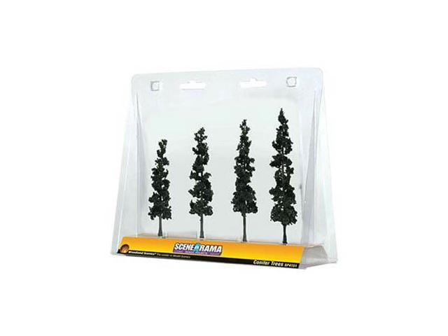 DESIGN PRESERVATION MODELS SP4151 Scene-A-Rama Conifer Trees