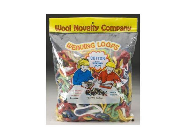 412 Cotton Loops 16oz Bag WOLY0412 WOOL NOVELTY CO. INC.