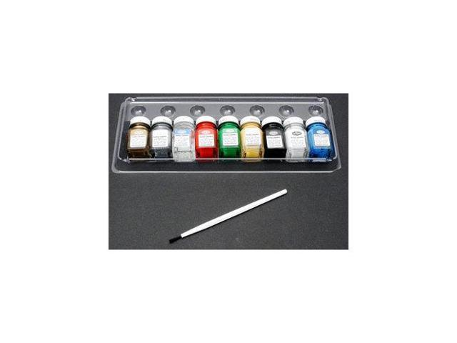 9146 Promotional Enamel Paint Set Gloss TESR3546 TESTORS