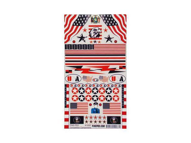 10087 USA Decal PPRY1087 PINE-PRO