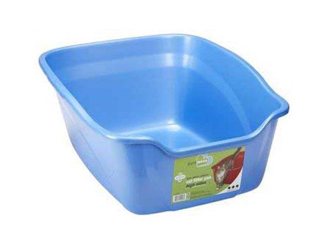 Van Ness Plastic Molding Cat Litter Pan, Assorted, 18.3X12X4 Inch - CP2