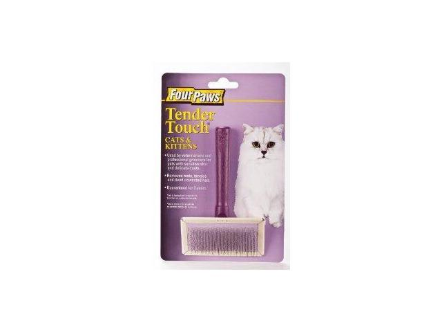Four Paws Products Ltd Tender Touch Slicker Wire Brush For Cats - 100202035