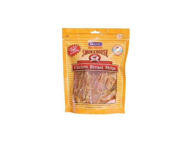 Smokehouse Pet Products Use Made Chicken Strips, 8 Ounce - 84317