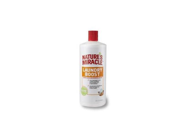 Natures Miracle Laundry Boost Stain and Odor Additive - 32 FL Oz NM5556 UPG- CA (NATURE'S MIRACLE)
