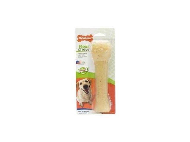 Nylabone Flexi Chew Bone, Chicken Flavor, Souper NCF205P NYLABONE, TFH