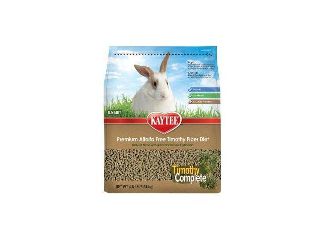 Kaytee Products Inc Timothy Complete Rabbit Food, 4.5 Pound - 100512970